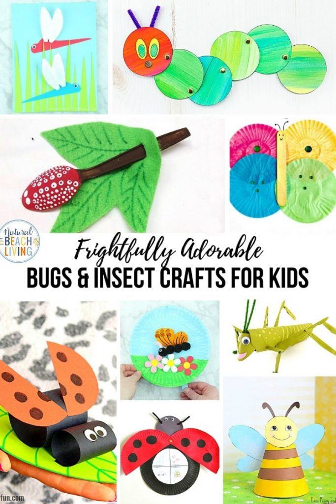 Bug and Insect Crafts for Kids, These Bug Activities for Preschool and Kindergarten are perfect to add to a preschool bug theme. You'll find fun Insect activities and crafts for kids, Great ideas for a preschool insect theme, Butterfly crafts, ladybug crafts, ants, dragonfly and more