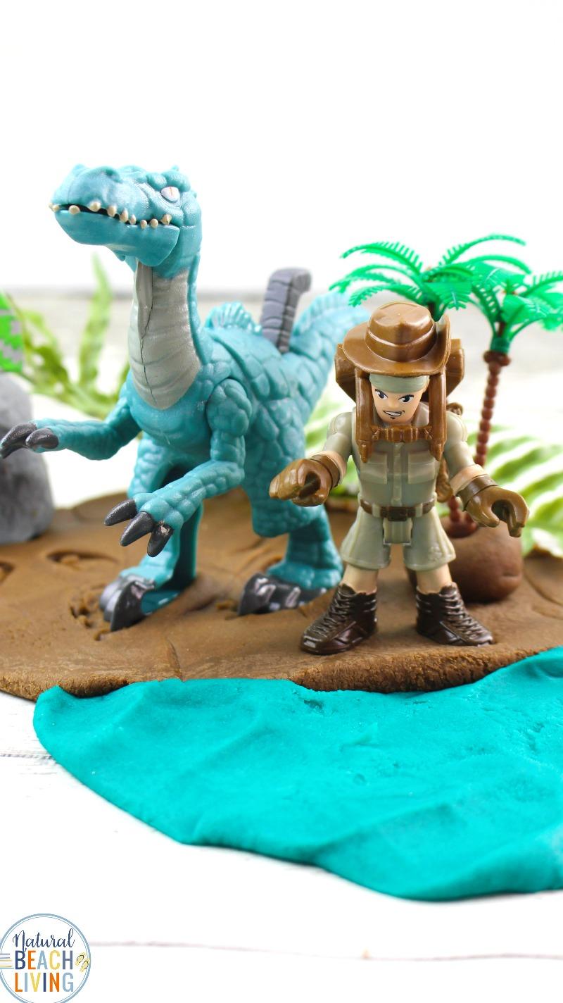 Dinosaur Play Dough
