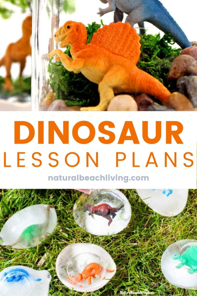 These Dinosaur Activities are perfect for a Dinosaur Preschool Theme and imaginative play with a wide variety of Dinosaur Activities for Preschoolers your children will have a blast. 25+ Dinosaur Preschool Activities for hands on science, sensory activities, Dinosaur Lesson Plans and more.