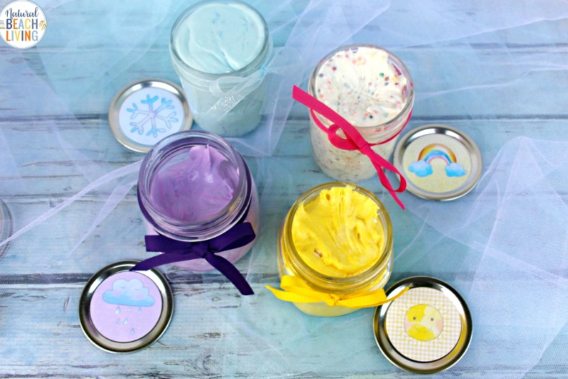 Here you will learn How to Make Putty and a great Silly Putty Recipe, It's The Best Edible Silly Putty Recipe for Weather Theme Preschool Sensory Activities, DIY Putty and Weather Theme Printables for Perfect Preschool theme activites for learning about the weather.