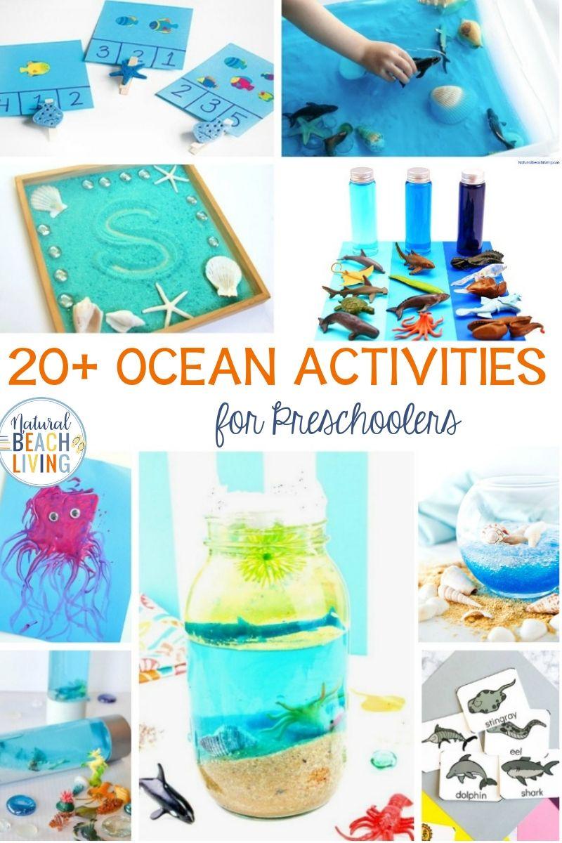 Ocean Preschool Activities for a Preschool Ocean Theme