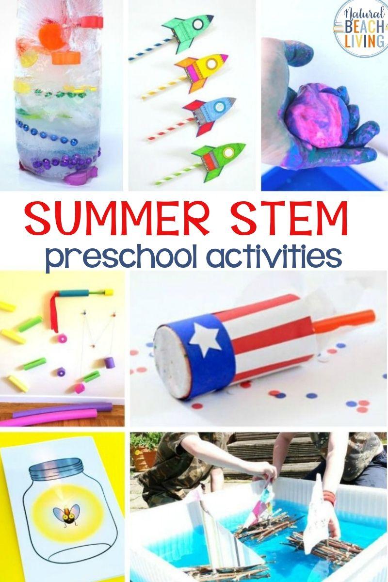 22+ Summer STEM Preschool Activities