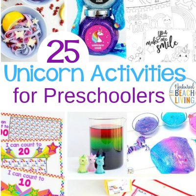 25+ Unicorn Activities for Preschoolers