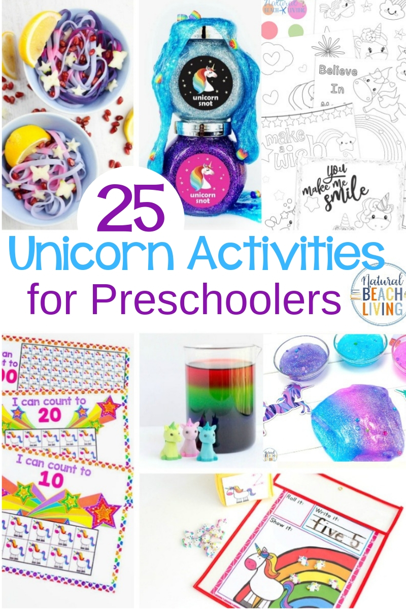 25+ Unicorn Activities for Preschoolers