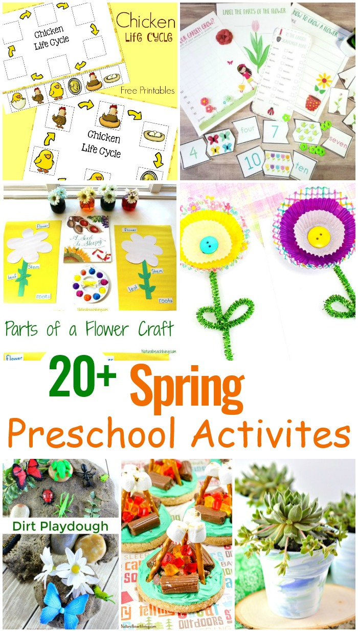 May Preschool Themes with Lesson Plans and Activities