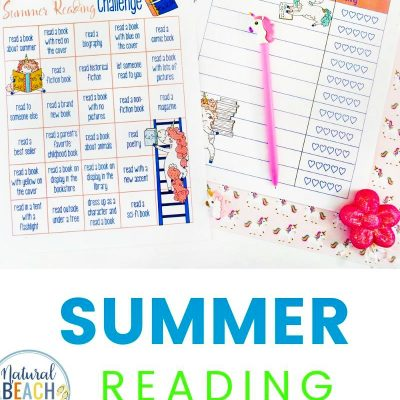 Summer Reading Challenge and Summer Reading Log