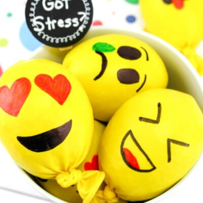Emoji Stress Balls – How to Make a Stress Ball for Kids and Adults