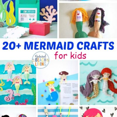 20+ Mermaid Crafts for Kids
