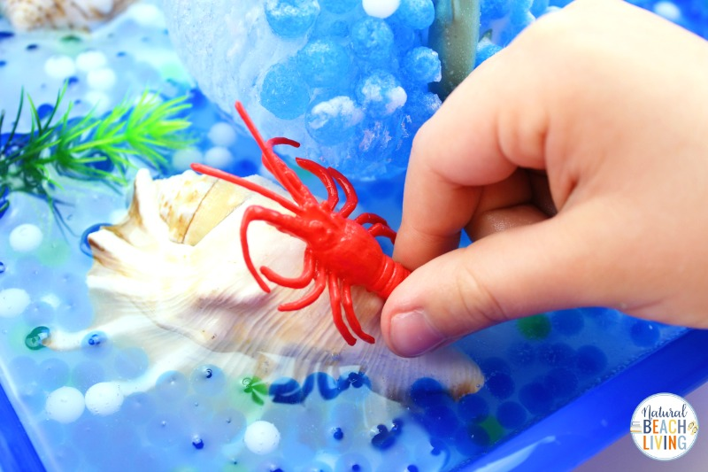 Consider these Ocean Activities for Preschoolers some of the best and most fun you'll find!  Perfect Ocean Science Experiments and Your toddlers and preschoolers will love to feel, explore and learn with Ocean sensory activities! Ocean Activities for Preschoolers in Science, Under the Sea Activities for preschool and an exciting frozen ocean activities Animal Rescue