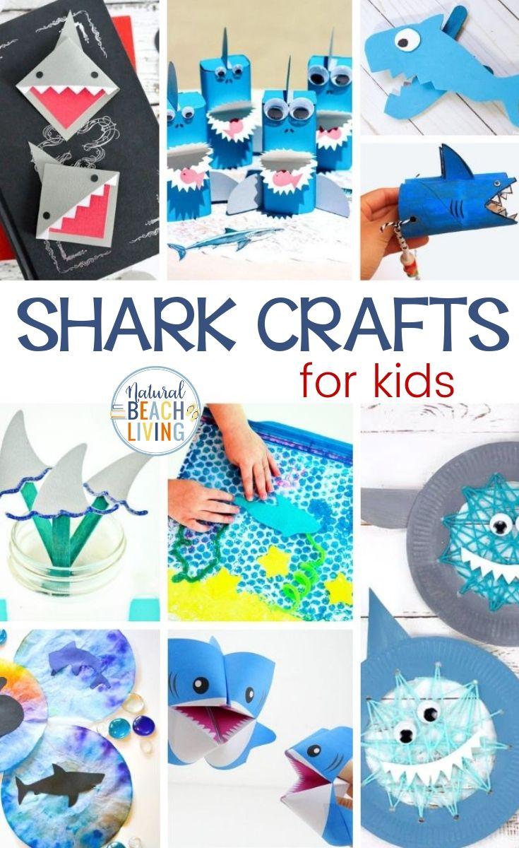 22+ Shark Crafts for Kids