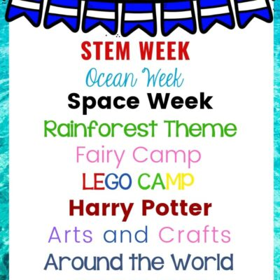30+ Summer Camp Themes – The Best Summer Themes for Kids