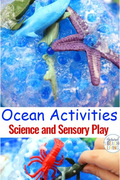 Ocean Activities Science and Sensory Play