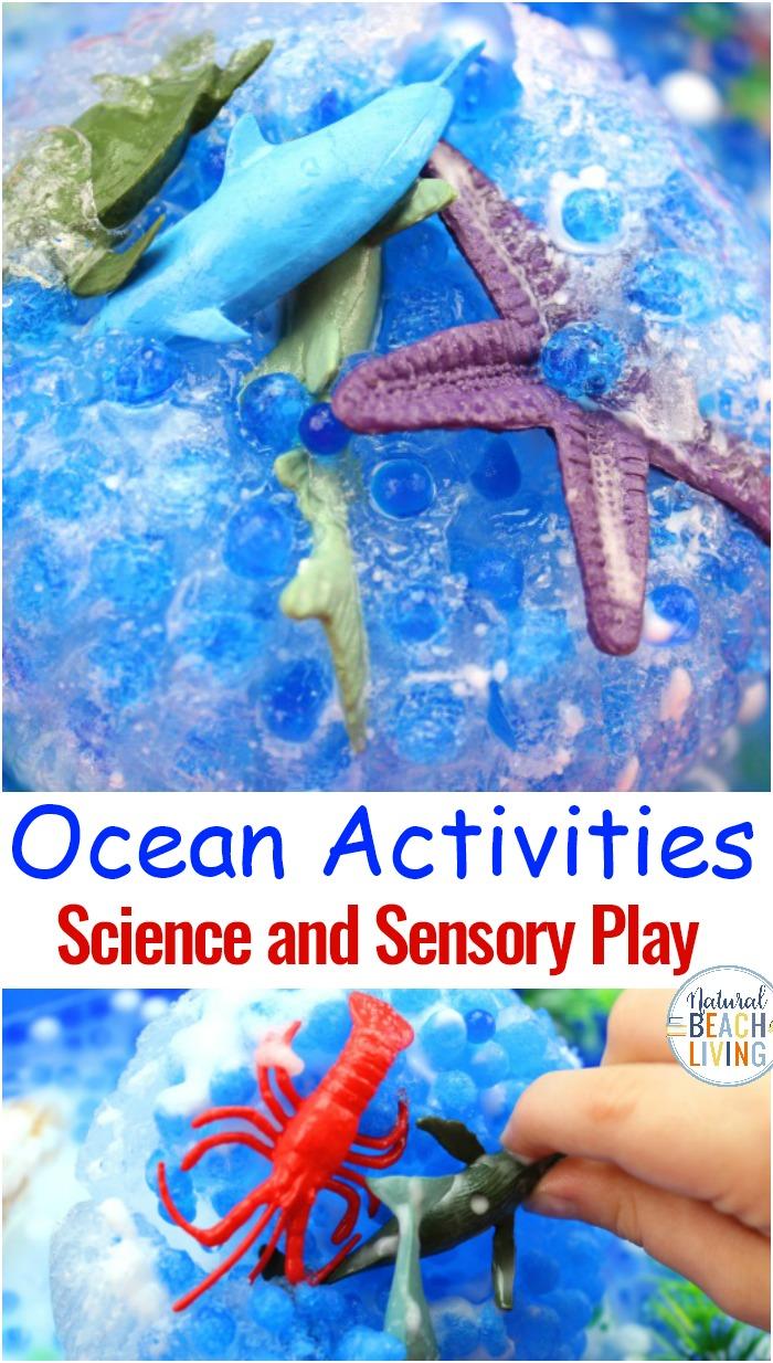 Frozen Ocean Activities for Preschoolers – Ocean Science Experiments