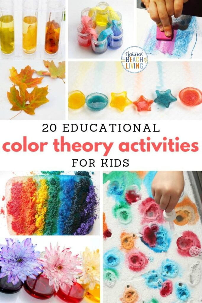 These Color Preschool Activities are simple, easy and so much fun to do! Your toddlers, preschoolers, and Kindergarten children will love creating and learning all about the colors! Teaching colors and Color Theory with fun hands on activities. Teaching Colors Activities and Color Activities for Preschool and Color Activities for Kindergarten