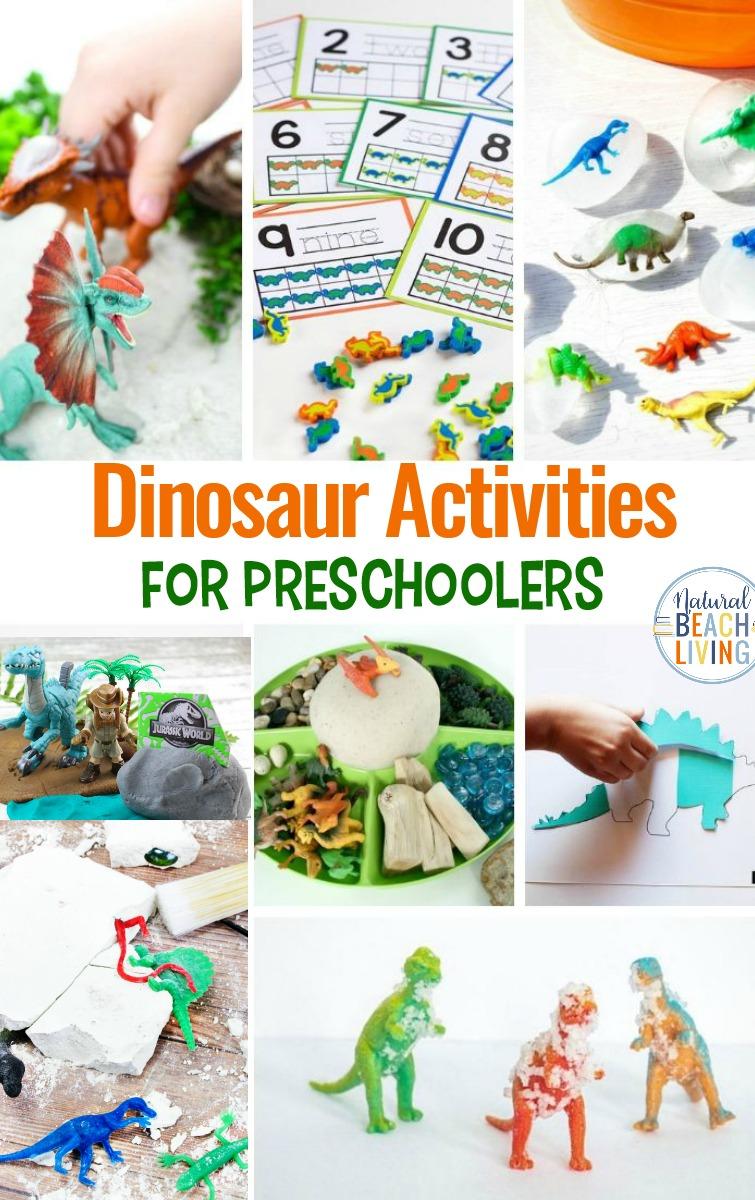 25+ Dinosaur Activities for Preschoolers