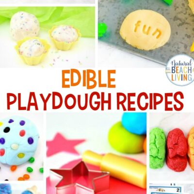 25 Edible Playdough Recipes – The Best Homemade Playdough