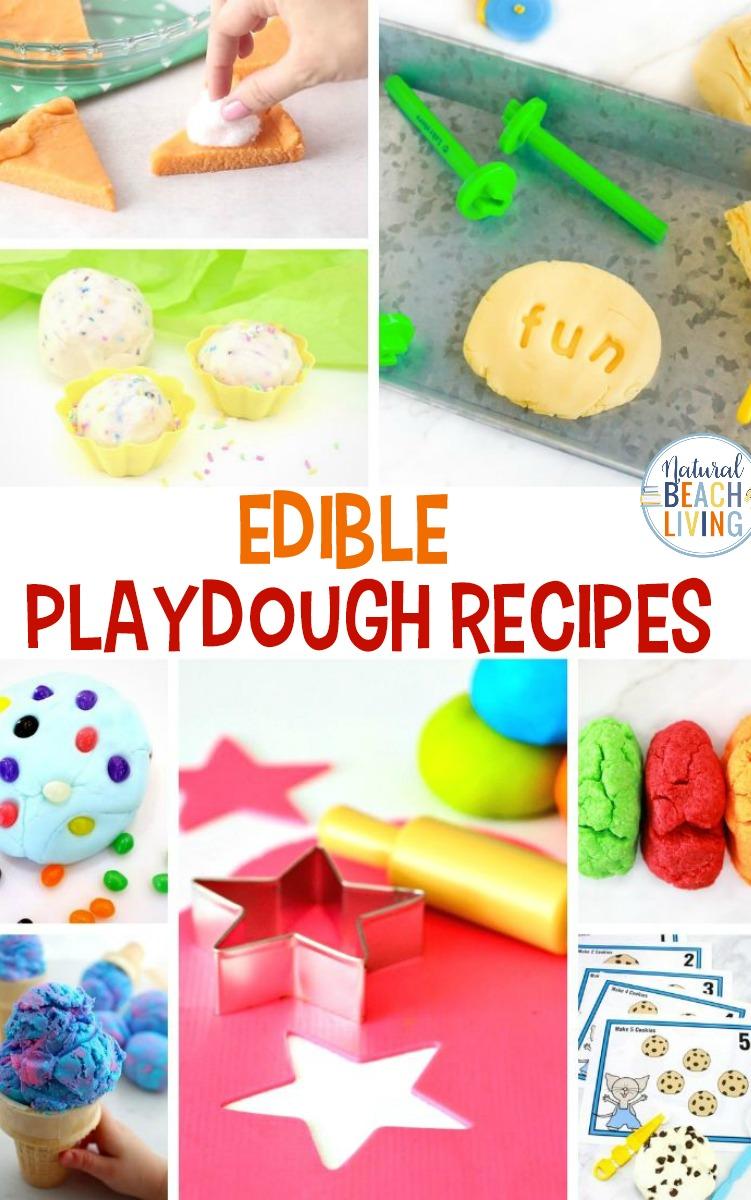 25 Edible Playdough Recipes – The Best Homemade Playdough