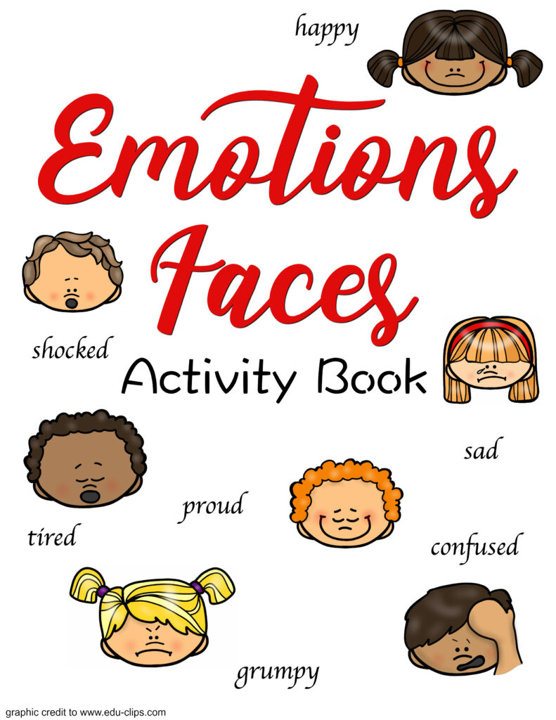 image regarding Free Printable Emotion Faces titled Totally free Printable Feeling Faces and Pursuits - Organic and natural Beach front