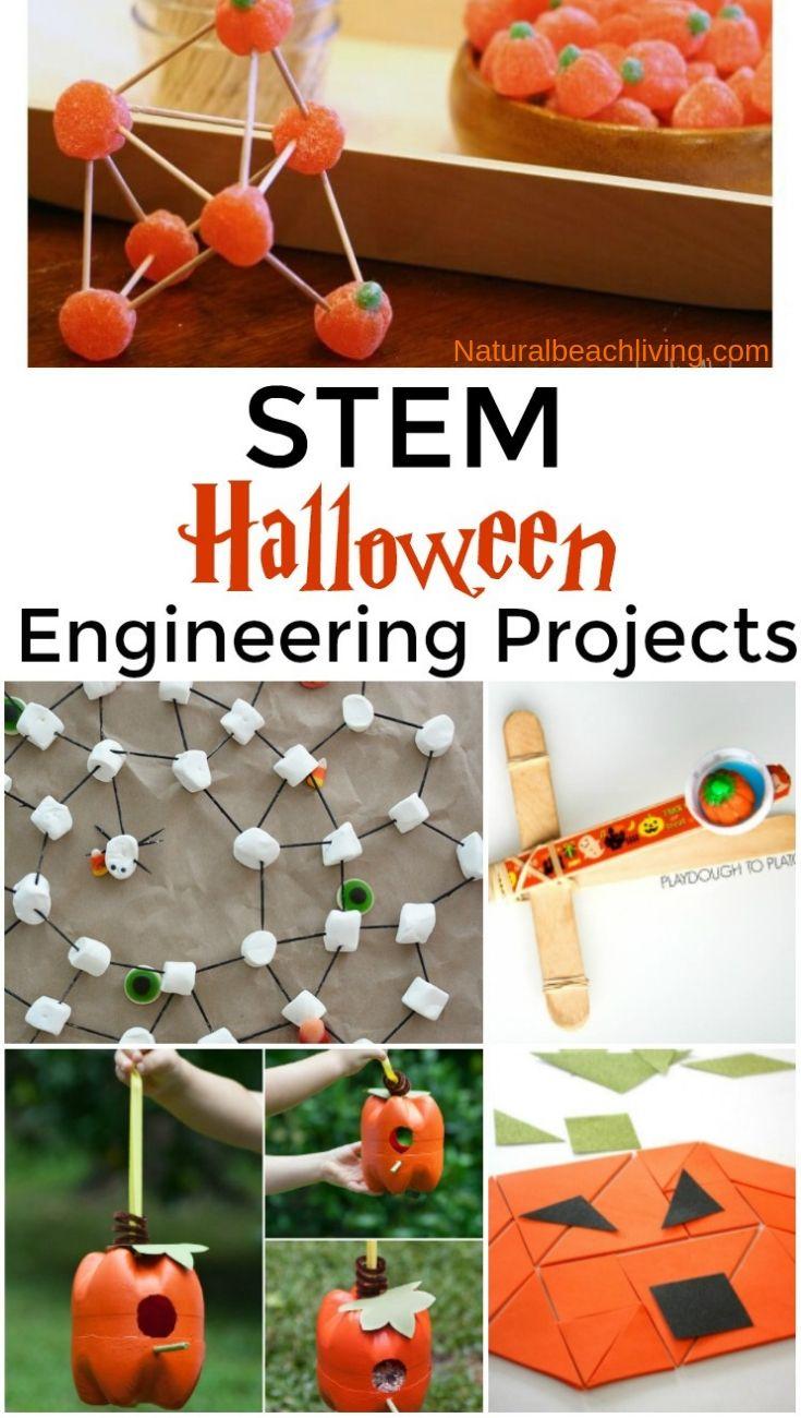 20 Halloween Stem Activities For Preschool And Kindergarten Natural Beach Living