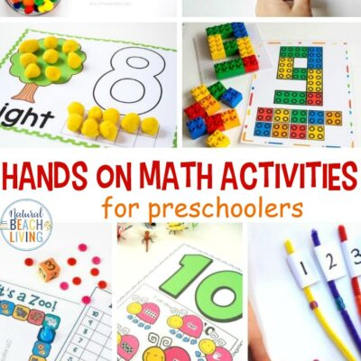 Hands on Math Activities for Preschool and Kindergarten