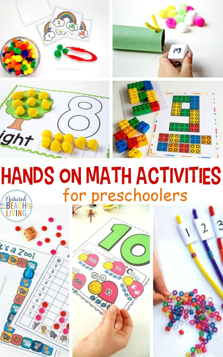 Hands on Math Activities for Preschool and Kindergarten ...