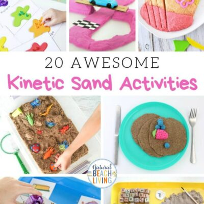 Kinetic Sand Activities – Cool Sensory Activities Kids Love