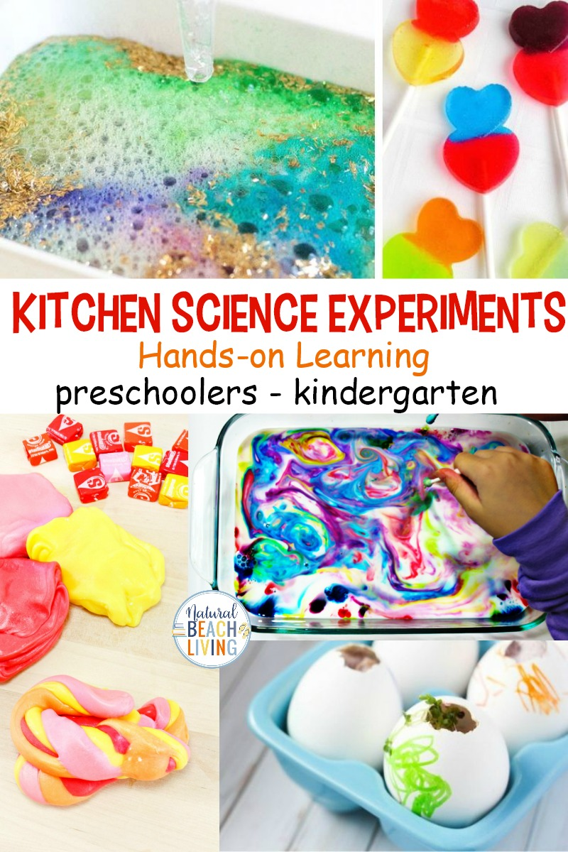 30+ Kitchen Science Experiments for Kids