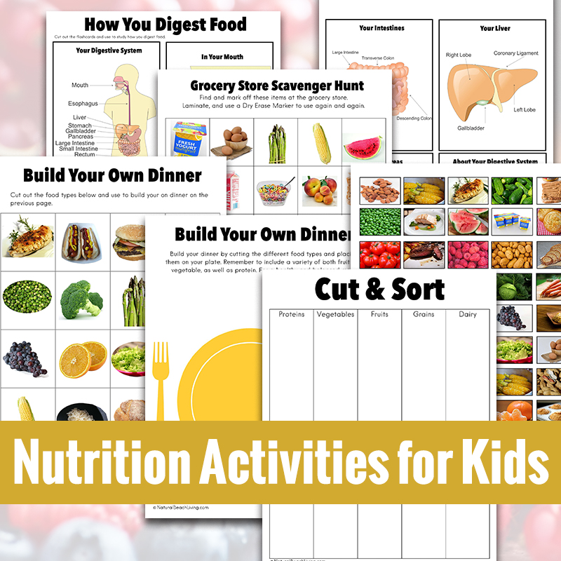 If you're looking for great Nutrition Activities for Kids you've come to the right place. Here are The Best Nutrition Lesson Plans and Nutrition Activities for Preschoolers, Kindergarten and Elementary Students. Find Fun Healthy Eating Activities and Healthy Food Activities for Kindergarten and This is Perfect for a Preschool Food Theme