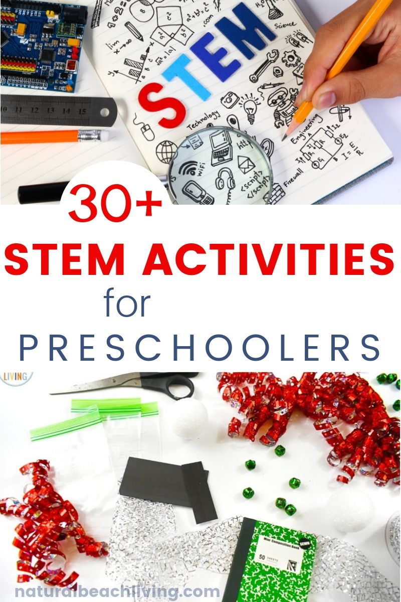 50 Stem Activities For Preschoolers Natural Beach Living