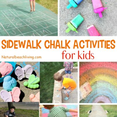 21+ Sidewalk Chalk Activities for Awesome Summer Fun
