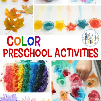 30+ Color Preschool Activities for Teaching Colors