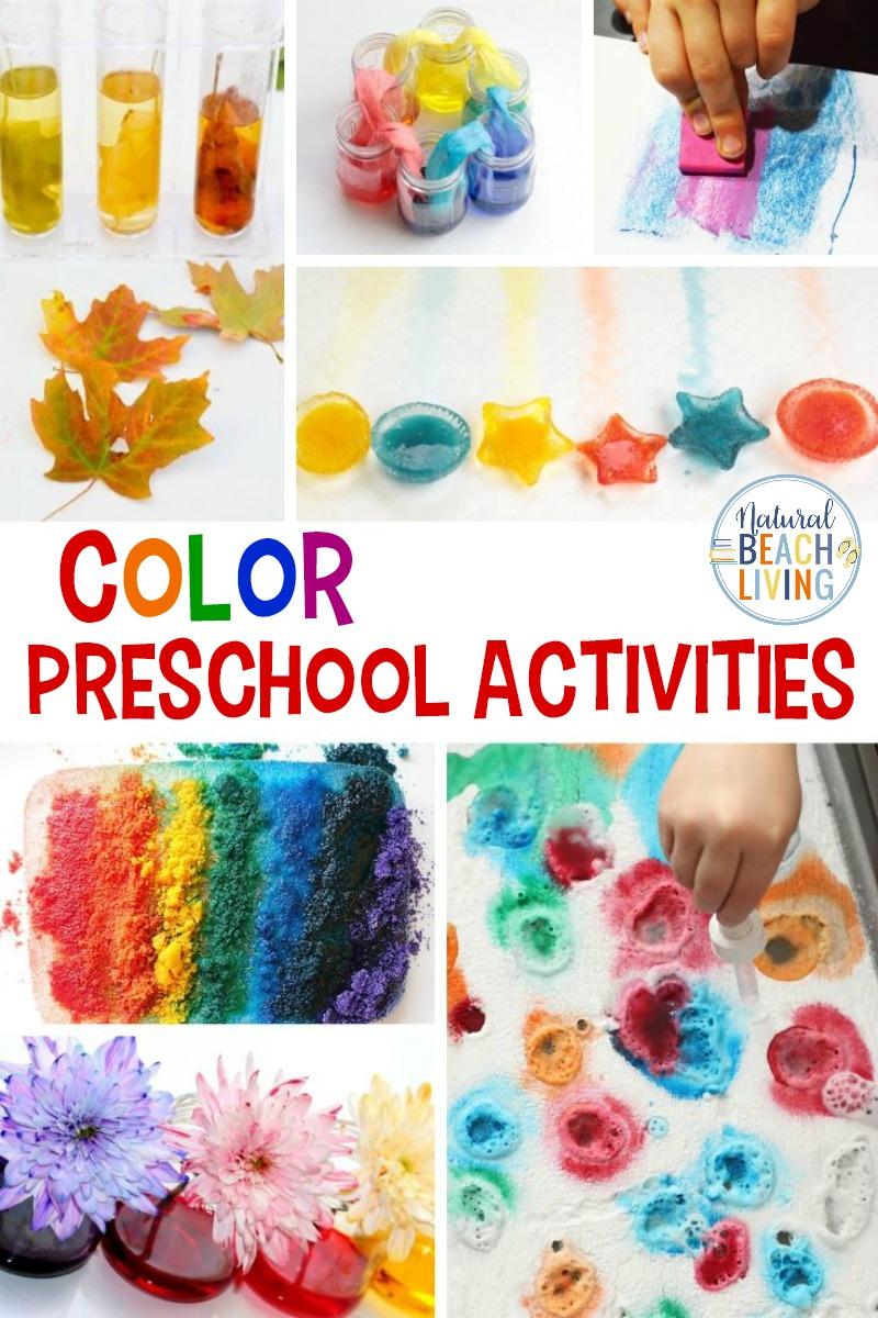 30+ Color Preschool Activities for Teaching Colors