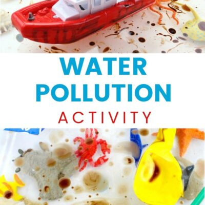 Water Pollution Activities for Kids –  Activities on Pollution Ocean Sensory Bin