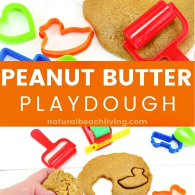 Peanut Butter Playdough Recipe – Easy Edible Playdough Ideas