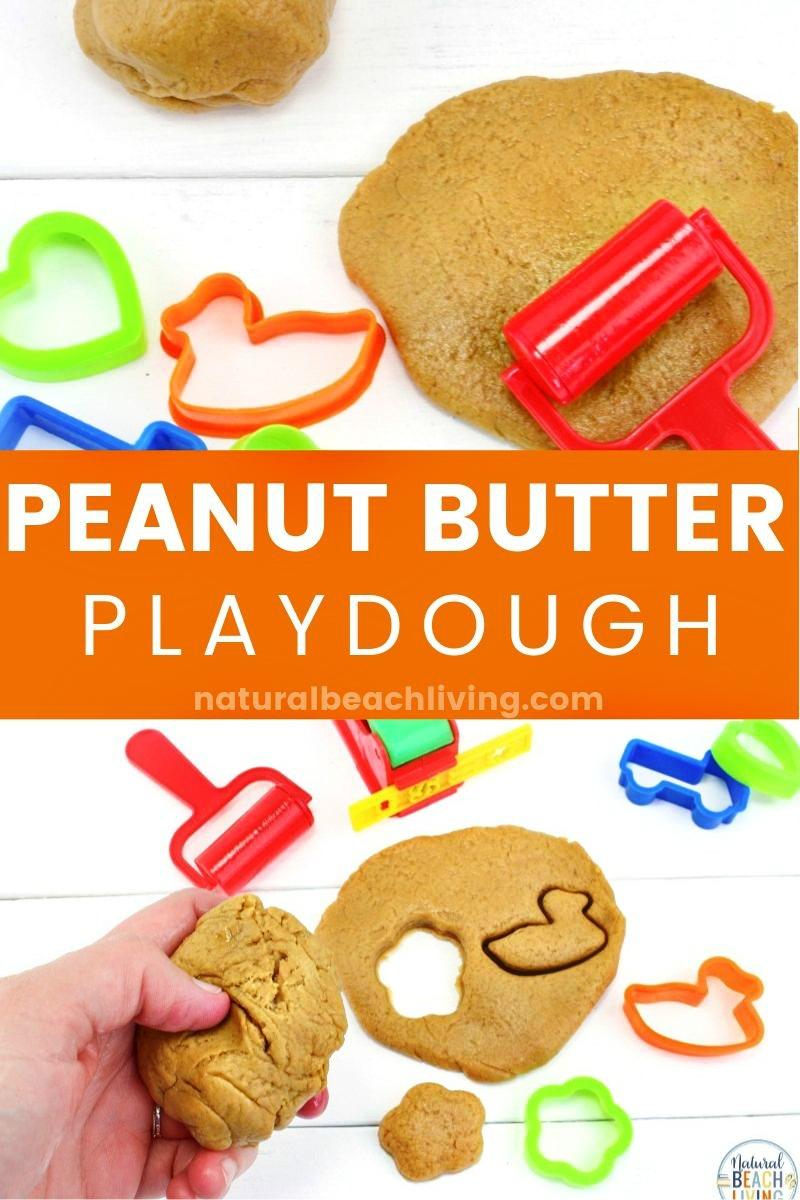 Peanut Butter Playdough Recipe – Easy Edible Playdough Ideas