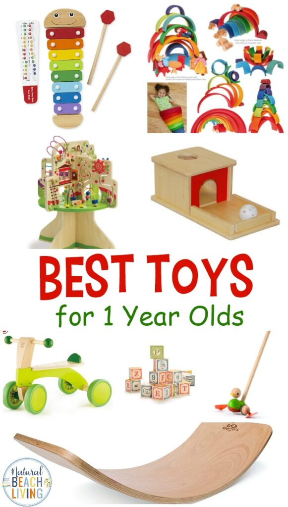 If you're looking for Toys for 1 year old child, you've come to the right place! These Educational Toys Your 1 Year Old will Love and are some of the  Best Toys for 1 year old development and for your toddlers growing mind, Montessori Toys for 1 Year Old and Great Gifts for 1 Year Olds