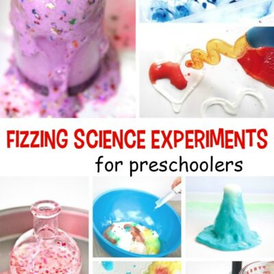 25 Fizzing Science Experiments for Preschoolers