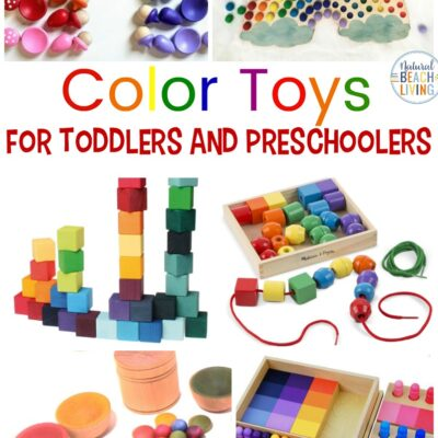 Montessori Toys for Learning Colors Perfect for 2-6 Year Olds