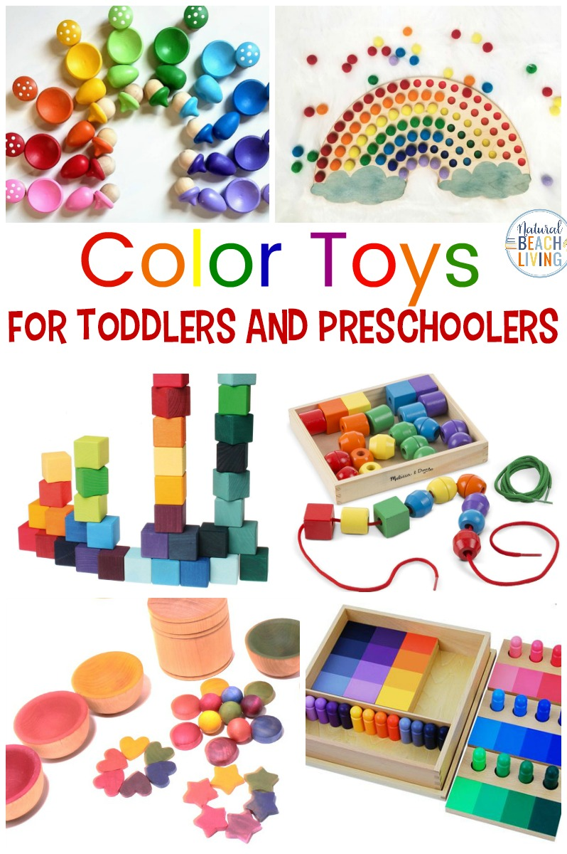 Montessori Toys For Learning Colors Perfect For 2 6 Year Olds Natural Beach Living