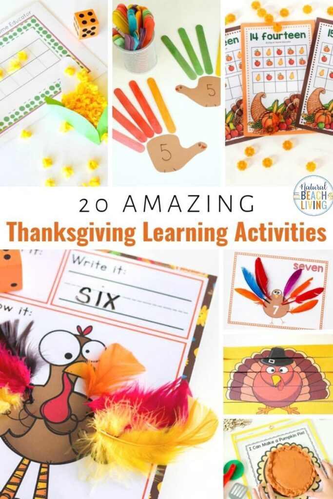 These Thanksgiving activities for preschoolers are so much fun. All are simple and easy to use plus Thanksgiving Learning Activities are a great way to get more fun learning in during the holiday season. If you're looking for the best preschool activities for Thanksgiving these are the ones for you!