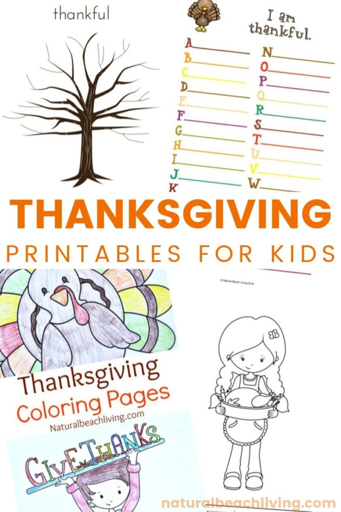 Thanksgiving Printables for Kids and Thankful Printable Activities, Thanksgiving Coloring Pages, I Am Thankful for Worksheet, Free Thanksgiving Printables and Fall Activities, Plus Thanksgiving Crafts and lots of Thanksgiving ideas for kids, Thankful tree, Find The Best Free Thanksgiving Printables for Kids Here