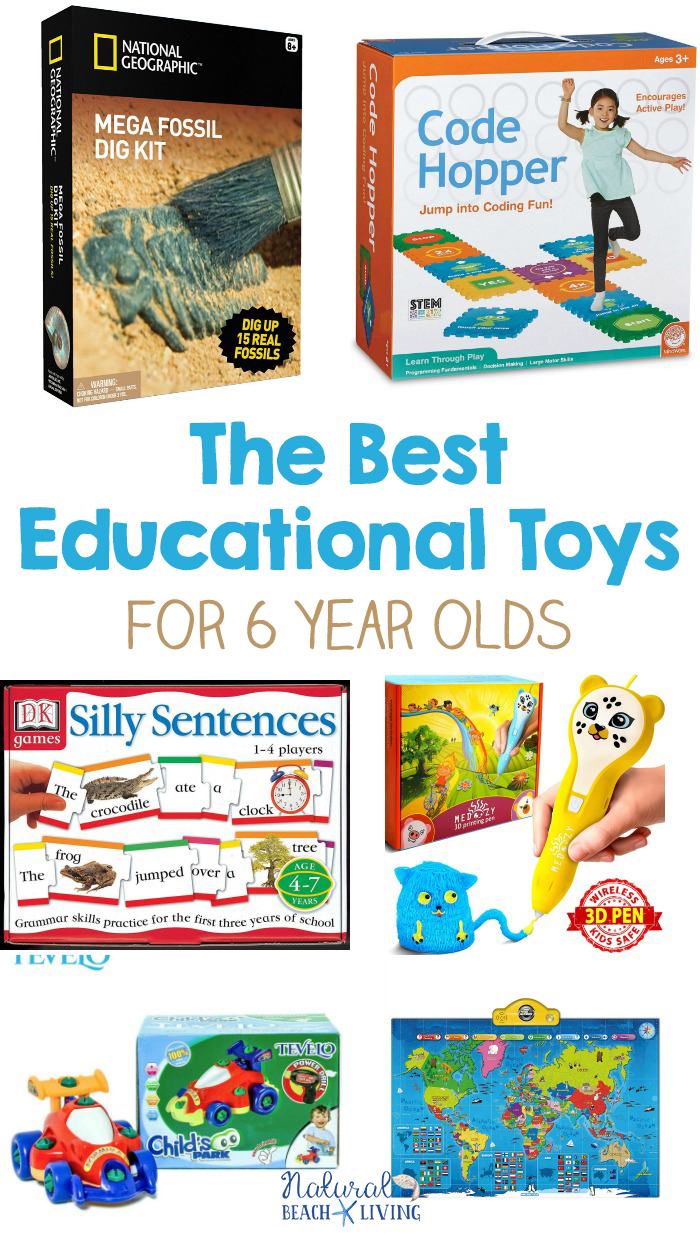 22+ Educational Toys for 6 Year Olds