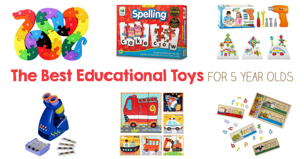 30+ best Educational Toys for 5 year olds! They focus on many different skills and activities, Give the gift of learning, combined with fun, and watch how they'll love to explore and continue to feed their minds with these educational toys, Montessori Toys, STEM Toys, Art Supplies and so much more.