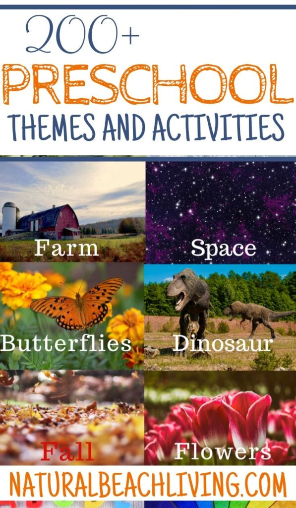 200+ Best Preschool Themes and Preschool Lesson Plans, Themes for Preschool and Kindergarten, Tons of Pre-K activities and Preschool Topics, Free Preschool Weekly Themes, Perfect for weekly or monthly themed learning or hands on activities for preschoolers, 200+ Free Preschool Printables and Preschool activities