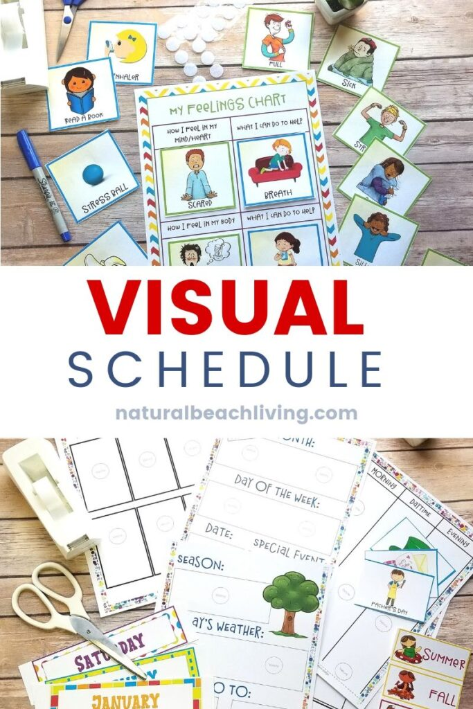 Visual Schedules The Easy to Follow Guide for Parents, Picture Visual Schedule Printable, Autism Visual Schedule, Free Printable Picture Schedule Cards, Understanding Visual Schedules and Benefits of Visual Schedules