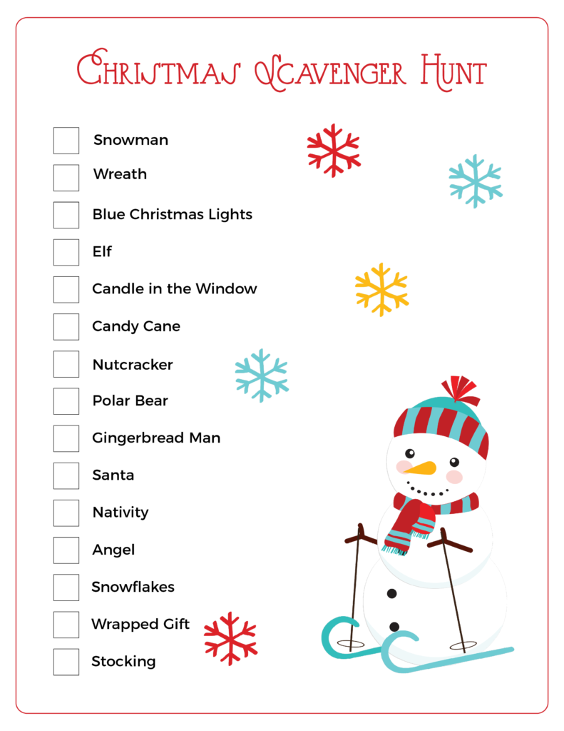 Get your Christmas Scavenger Hunt free printables HERE. This is such a great way to create an epic Christmas Scavenger Hunt. Perfect for Toddlers and preschoolers but also a great free Printable Christmas Scavenger Hunt for the family. It's exciting, simple and certain to provide hours of fun.