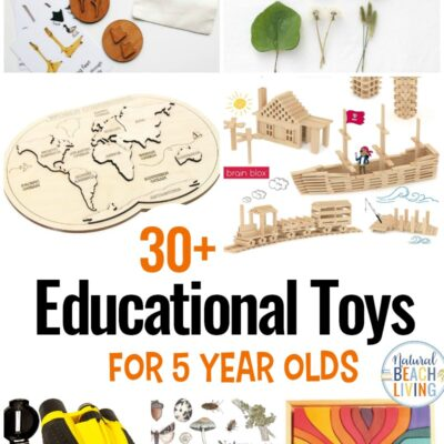 30+ Educational Toys for 5 Year Olds – Best Toys
