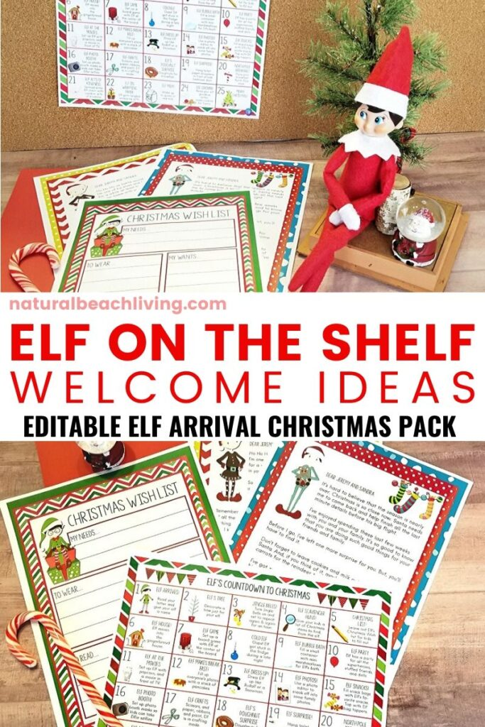 60 Elf on the Shelf Ideas Everyone Will Love, Elf on the Shelf Ideas for Kids, Funny Elf on the Shelf ideas, Easy Elf on the Shelf Ideas with Free Elf printables and Christmas Traditions and Activities, Elf on the Shelf ideas for kids and Toddlers and The Elf on the Shelf Arrival