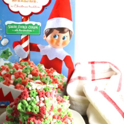 Elf on the Shelf Cereal Treats