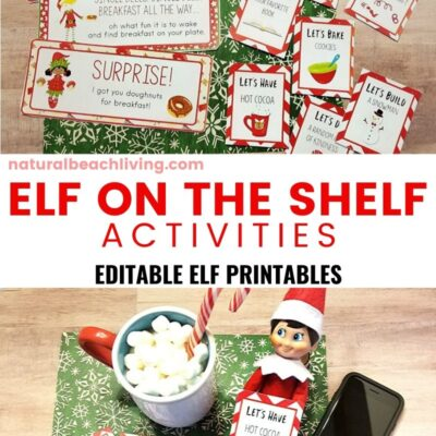 Elf on the Shelf Printable Activities